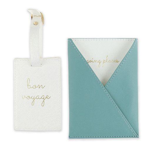 LC Lauren Conrad Luggage Tag & Passport Case Set