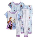 Disney's Frozen 2 Elsa & Anna Toddler Girl Tops & Bottoms Pajama Set