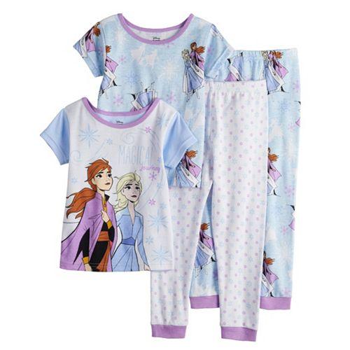 Disney's Frozen 2 Elsa & Anna Toddler Girl Tops & Bottoms Pajama Set