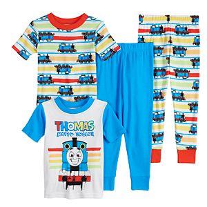 Toddler Boy Thomas The Train 4 Piece Pajama Set