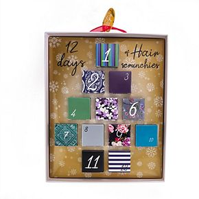 12 Days Of Scrunchies Cool Color Set