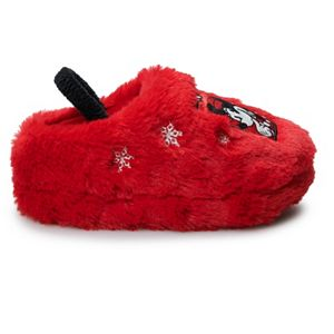 Disney's Minnie Mouse Toddler Girls' Clog Slippers