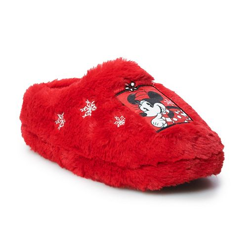 Disney's Minnie Mouse Girls' Clog Slippers
