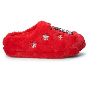 Disney's Minnie Mouse Women's Clog Slippers