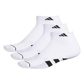 Men's adidas climalite Cushioned II 3-Pack Low-Cut Socks