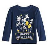 "Disney's Mickey Mouse Baby Boy ""Happy New Year"" Graphic Tee by Jumping Beans®"