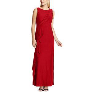 Women's Chaps Ruffled Evening Gown