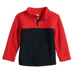 Toddler Boy Jumping Beans® Sherpa Quarter-Zip Hansoll