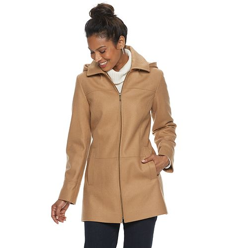Women's TOWER by London Fog Wool-Blend Coat