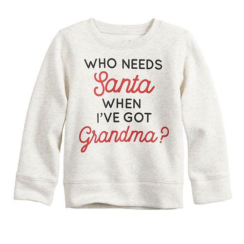 Toddler Boy Jumping Beans® Holiday Sweatshirt
