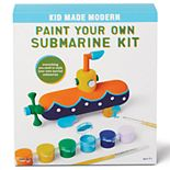 Kid Made Modern Paint-Your-Own Submarine Kit