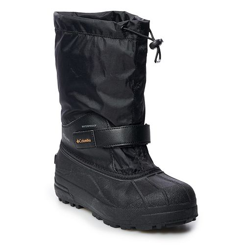 Columbia Powderbug Forty Boys' Waterproof Winter Boots