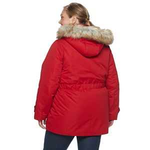 Women's Halitech Hooded Parka with Faux Fur Trim