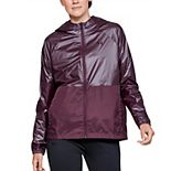 Women's Under Armour Metallic Woven Full Zip