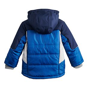 Toddler Boy ZeroXposur Colorblock Hooded Heavyweight Jacket