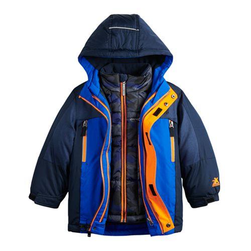 Boys' 4-7 ZeroXposur Juvi Trevor System Jacket