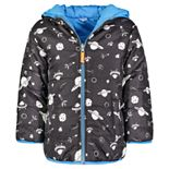 Boys 4-7 Carter's Reversible Bubble Jacket