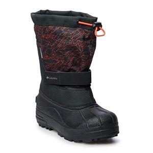 Columbia Powderbug Plus II Toddler Boys' Waterproof Winter Boots