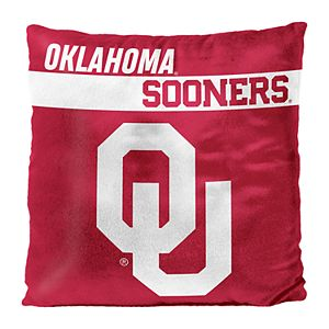 Oklahoma Sooners Decorative Throw Pillow
