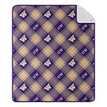 Washington Huskies Sherpa Throw Blanket
