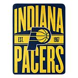 Indiana Pacers Micro Throw Blanket