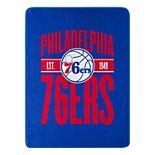 Philadelphia 76ers Micro Throw Blanket