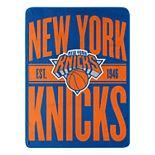 New York Knicks Micro Throw Blanket