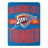 Oklahoma City Thunder Micro Throw Blanket