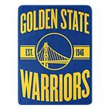 Golden State Warriors Micro Throw Blanket