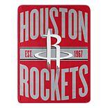 Houston Rockets Micro Throw Blanket