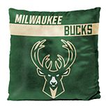 Milwaukee Bucks Throw Pillow