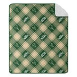 Milwaukee Bucks Micro Sherpa Throw Blanket