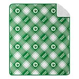 Boston Celtics Micro Sherpa Throw Blanket