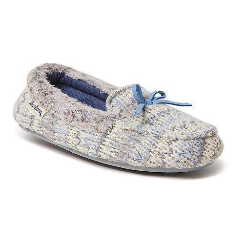 Dearfoams Fairisle Girls' Slippers