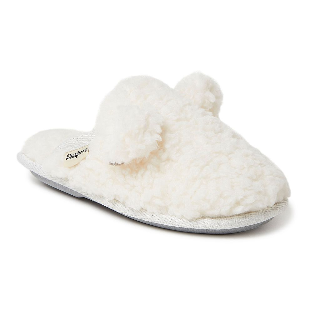 Dearfoams Pile Girls' Slippers