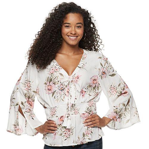 Juniors' American Rag Kimono Tunic