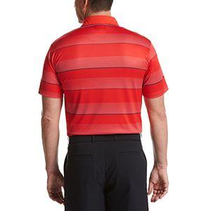 Men's Grand Slam Classic Fit All Over Stripe Polo
