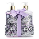 Simple Pleasures Fancy Caddy Lavender Vanilla Hand Soap And Hand Cream
