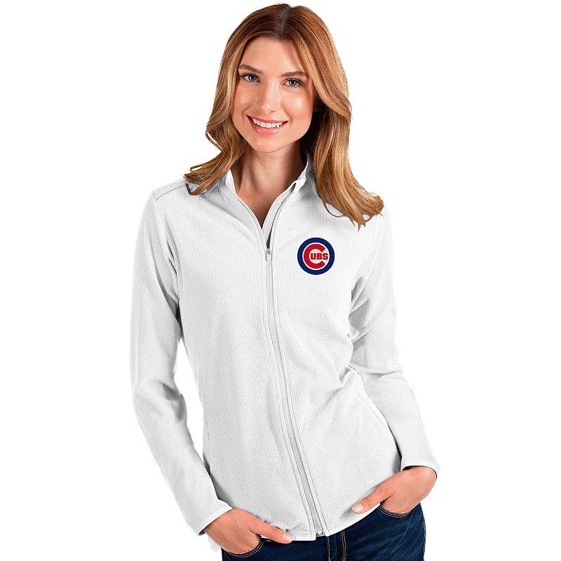 Women's Chicago Cubs Glacier Full Zip Jacket, Size: XXL, White