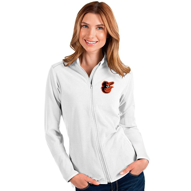 Women's Baltimore Orioles Glacier Full Zip Jacket, Size: XXL, White
