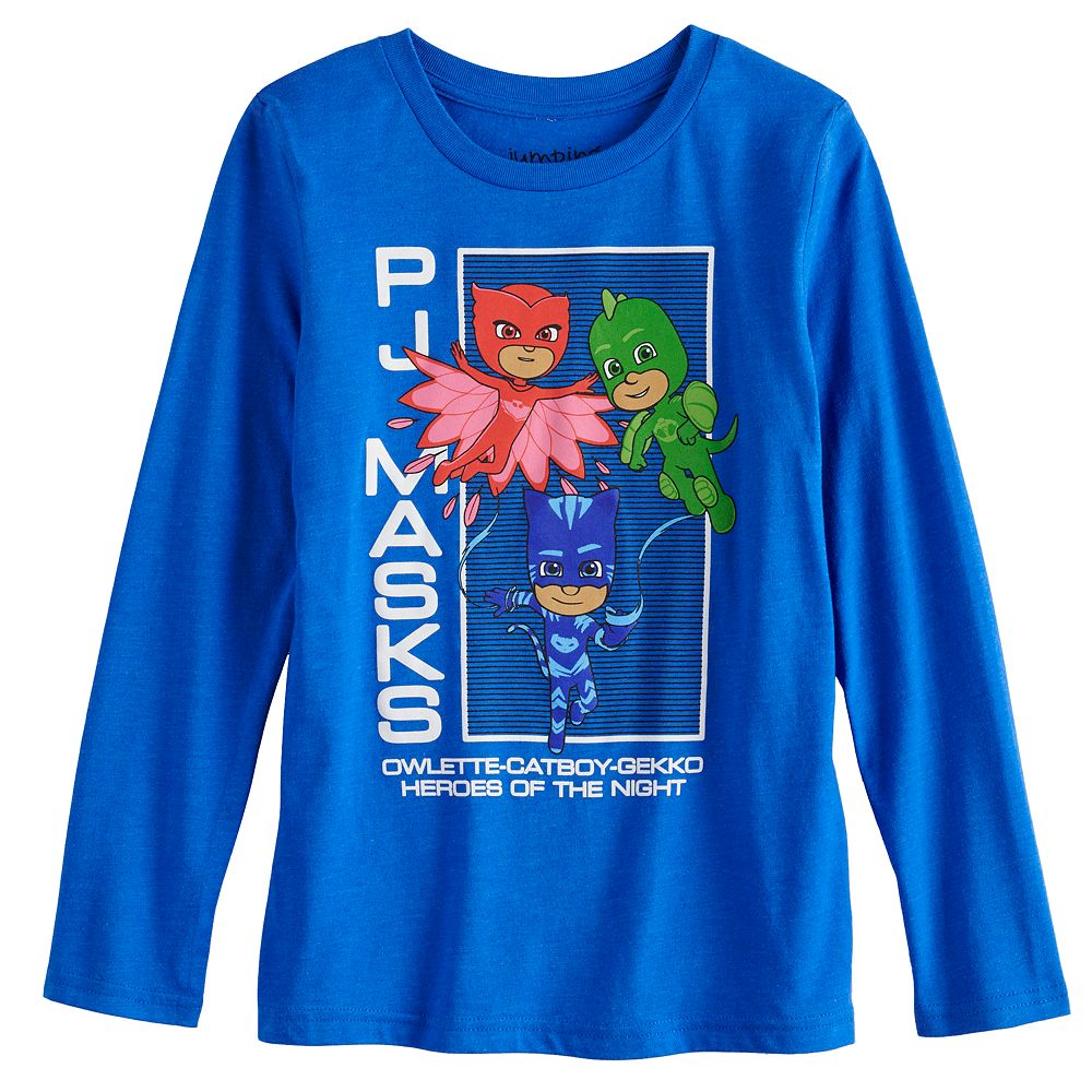 Boys 4-12 Jumping Beans® PJ Masks Heroes of the Night Long-Sleeve Tee