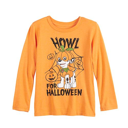 Boys 4-12 Jumping Beans® Pumpkin Marshall Paw Patrol Long-Sleeve Tee