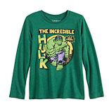 Boys 4-12 Jumping Beans® Incredible Hulk Hulk Strong Long-Sleeve Tee