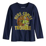Boys 4-12 Jumping Beans® Scooby-Doo Here Comes Trouble Long-Sleeve Tee