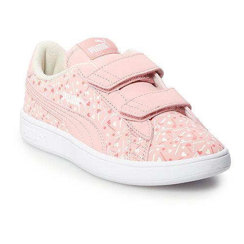 PUMA Smash V2 Confetti Pre-School Girls' Sneakers