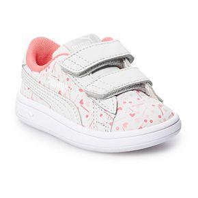 PUMA Smash V2 Confetti Toddler Girls' Sneakers