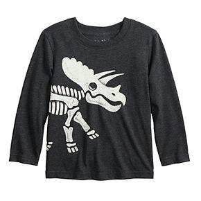 Toddler Boy Jumping Beans® Dinosaur Skeleton Long-Sleeve Tee