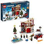 LEGO Creator Winter Village Fire Station 10263