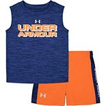 Toddler Boy Under Armour Muscle Tee & Shorts Set