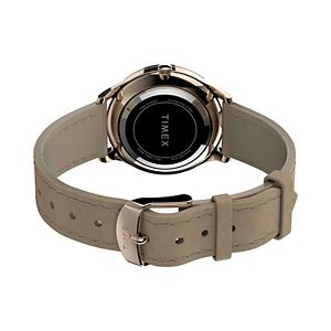 Timex Women's Modern Easy Reader Leather Watch - TW2T72400JT